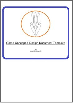 49 best game design document images on pinterest game design game design document template 2 printable word and pdf formats maxwellsz