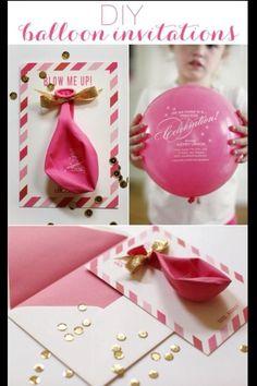 Cute invitation idea. Very cleaver.