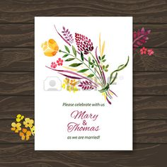 Wedding vintage invitation peacock theme vector by woodhouse84 on