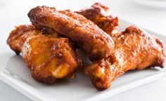 This sweet and savory recipe works equally well for chicken wings or ribs.