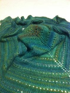 Ravelry: No-fuss shade-loving Shawl pattern by Susan Ashcroft, free