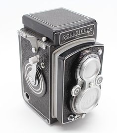 Rolleiflex Automat 1 (Model 1) 120 Film TLR Camera: Working with case & lens cap - rare by SopworthVintage on Etsy https://www.etsy.com/listing/213595776/rolleiflex-automat-1-model-1-120-film