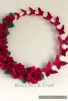 Hottest Cost-Free Paper Crafts flowers Strategies Searching for new craft concepts? Paper Flowers Craft, Paper Crafts Origami, Paper Crafts For Kids, Origami Easy, Flower Crafts, Diy Flowers, Flower Decorations, Origami Flowers, Peony Flower