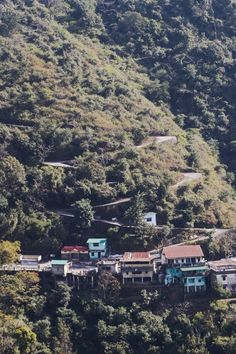 Road to Mussoorie, India