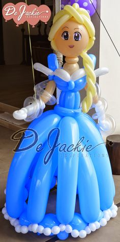 frozen princessElsa balloon model