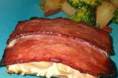 Bacon Wrapped Salmon