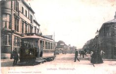 This ^ is a painting of Linthorpe Road. I include it because I have very few photos of the old trams but this is what they looked like. My dad remembers them. They were pretty cool. It looks like Beemish. I suppose that's the point.