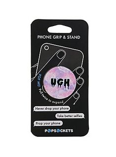 Get a grip, would ya? // Popsockets UHG Phone Grip And Stand