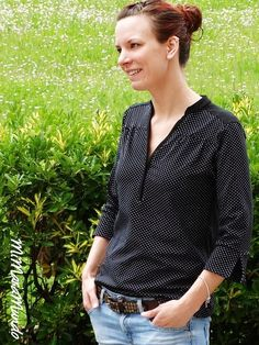 lillesol & pelle Schnittmuster/ pattern: Blusenshirt