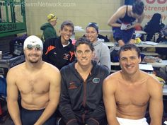 Tyler Clary, Conor Dwyer, and Ryan Lochte - we'd take an autograph from any of these three!