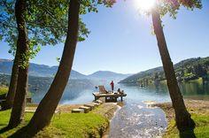 Millstätter See in Kärnten /Österreich