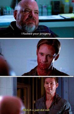 True blood 6x09- Eric Northman - Jason Stackhouse- not a good idea to piss Eric off
