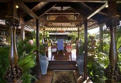 David Bowie's Mustique island home