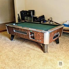 Finished Installing This Foot One Piece Slate American Classic - Moving a pool table in one piece