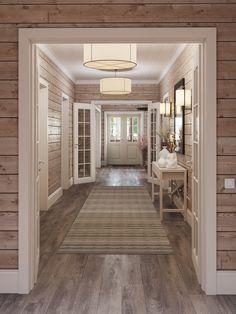 Гостиная - Галерея 3ddd.ru Home Interior Design, Interior Decorating, Log Home Interiors, Lodge Decor, Farmhouse Interior, House In The Woods, Log Homes, My Dream Home, Future House