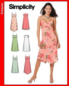 Simple Dress Patterns for Beginners | Obviously I didn't post anything over the weekend.