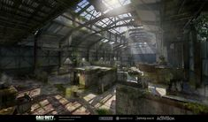 Call of Duty, Modern Warfare Remastered, Concept Art, Jean-Pierre Lapointe Modern Warfare, Call Of Duty, The Rock, Concept Art, Gamer Room, Glitch, Cod, Environment, Conceptual Art