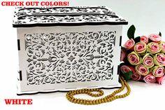 WEDDING MONEY BOX, Wedding Card Box, Money Envelopes Box, Wedding Card Holder, Wedding Gift Card Box