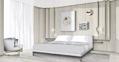 Autocad Layout, Public Hotel, Hospitality Design, Luxurious Bedrooms, Interior Design Living Room, Yabu Pushelberg, House Design, Furniture, Presentation