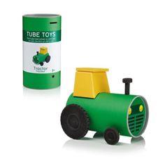Tracteur à monter Tube Toys