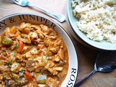Chicken and Three Pepper Goulash