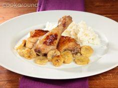 Pollo con banane: Ricette Venezuela   Cookaround