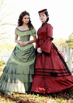 Part 2 Part 3 Eine Freundin hat mich angeschrieben und mich gefragt, ob ich ihr das ein Kleid von der TV-Serie Vampire Diaries schnei...