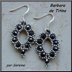 and seed bead earrings Beaded Beads, Beaded Earrings Patterns, Beads And Wire, Beading Patterns, Beaded Necklace, Seed Bead Jewelry, Bead Jewellery, Seed Bead Earrings, Hoop Earrings