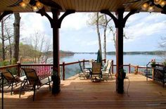 Serene view of Lake Keowee! Outdoor Spaces, Outdoor Decor, Lake Life, Serenity, Patio, Dreams, Nice, House, Home Decor