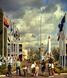 Disneyland's Tomorrowland, 1960(?) (via MiceChat.)