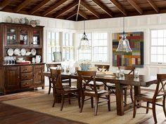 Dining Rooms : IDEAS & INSPIRATIONS: Pottery Barn Dinning Room Decor Dining Room Decorating Ideas