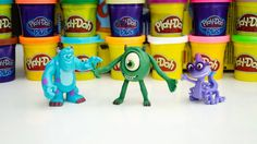 Play Doh Monsters Inc. Play Doh Monsters Inc Mike!
