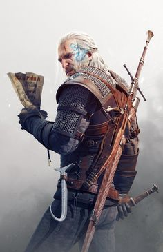 The Witcher 3 Wild Hunt Geralt Contract by Scratcherpen