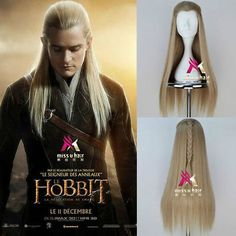 Hobbit Legolas Greenleaf Remarkable Long Blonde Cosplay Party Wig Hair-in Jewelry Tools & Equipments from Jewelry & Accessories on Aliexpress.com | Alibaba Group
