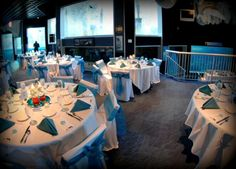 Arctic Encounter Wedding Reception