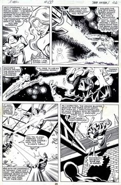 Uncanny X-Men #130, page 26 by John Byrne & Terry Austin. 1980.