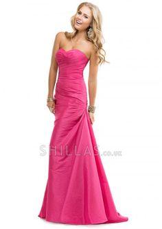 Long Watermelon Sweetheart Prom Dresses 6108418