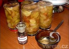 Skvělý jablečný kompot bez zavařování Chocolate Fondue, Kimchi, Pickles, Cucumber, Smoothie, Clean Eating, Food And Drink, Low Carb, Homemade