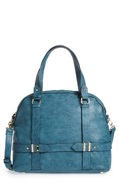 Sole Society 'Tristan' Vegan Leather Bowler Bag available at #Nordstrom