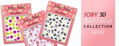 Browse Joby Nail Art's selection of sleek and sassy nail stickers and nail decals. Nail Art Stickers, 3d Nails, Panda, Pandas