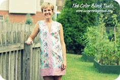 Growing Home: DIY: Color Block Tunic (with free pattern!)