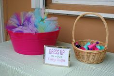 American Girl doll-sized party hats & tutus