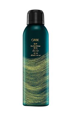 There is now a complement to the strand-salvaging dry-shampoo product. // Soft Dry Conditioner Spray by Oribe