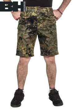 Shorts Camo. flecktarn