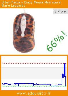 Urban Factory Crazy Mouse Mini souris filaire Leopardo (Accessoire). Réduction de 66%! Prix actuel 7,52 €, l'ancien prix était de 22,39 €. http://www.adquisitio.fr/urban-factory/crazy-mouse-mini-souris-3