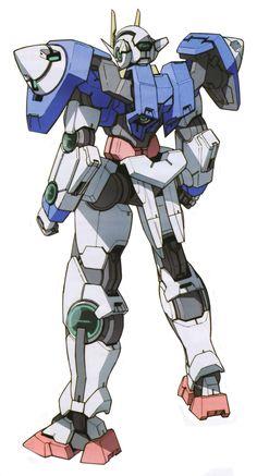 gundam 00 | 110 GN-0000 00 Gundam (from Mobile Suit Gundam 00) (01:23)