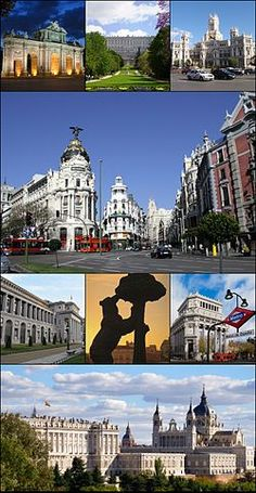 Madrid, Spain! Lovely city! Has been a long while since we were there, but gosh I can remember it like yesterday!