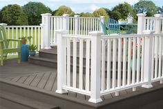 long life outdoor pvc railings