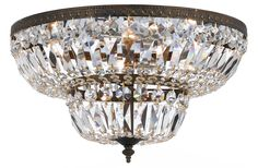 View the Crystorama Lighting Group 718-C Richmond 4 Light Flush Mount Ceiling Fixture at LightingDirect.com.