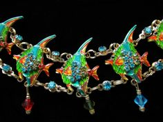 Lunch At The Ritz  Angel Fish Toggle Bracelet by EverythingIOwn, $95.00